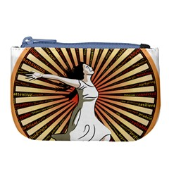 Woman Power Glory Affirmation Large Coin Purse by Nexatart