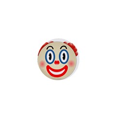 Clown Funny Make Up Whatsapp 1  Mini Buttons by Nexatart