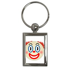 Clown Funny Make Up Whatsapp Key Chains (rectangle)  by Nexatart
