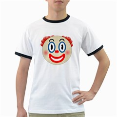 Clown Funny Make Up Whatsapp Ringer T Shirts by Nexatart