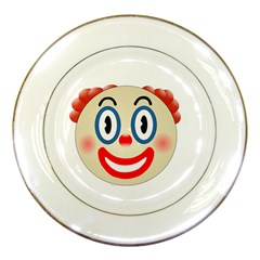 Clown Funny Make Up Whatsapp Porcelain Plates by Nexatart
