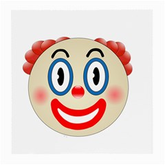 Clown Funny Make Up Whatsapp Medium Glasses Cloth
