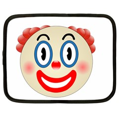 Clown Funny Make Up Whatsapp Netbook Case (large) by Nexatart