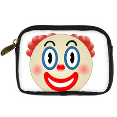 Clown Funny Make Up Whatsapp Digital Camera Cases by Nexatart