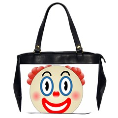 Clown Funny Make Up Whatsapp Office Handbags (2 Sides)  by Nexatart