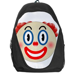 Clown Funny Make Up Whatsapp Backpack Bag by Nexatart