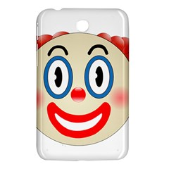 Clown Funny Make Up Whatsapp Samsung Galaxy Tab 3 (7 ) P3200 Hardshell Case  by Nexatart