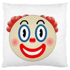 Clown Funny Make Up Whatsapp Standard Flano Cushion Case (two Sides)