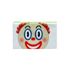 Clown Funny Make Up Whatsapp Cosmetic Bag (xs) by Nexatart
