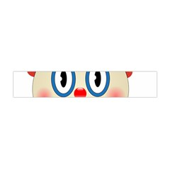 Clown Funny Make Up Whatsapp Flano Scarf (mini) by Nexatart