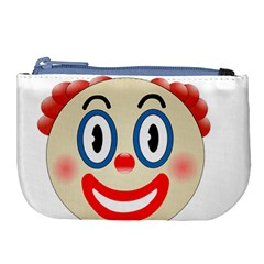 Clown Funny Make Up Whatsapp Large Coin Purse