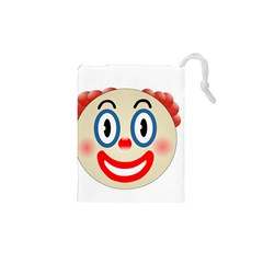 Clown Funny Make Up Whatsapp Drawstring Pouches (xs)
