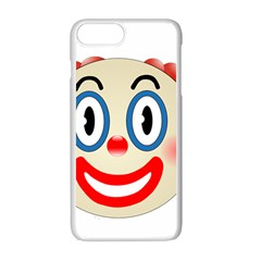 Clown Funny Make Up Whatsapp Apple Iphone 7 Plus White Seamless Case by Nexatart
