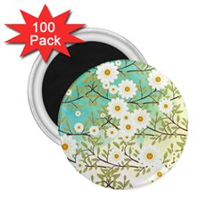 Springtime Scene 2 25  Magnets (100 Pack)  by linceazul