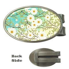 Springtime Scene Money Clips (oval)  by linceazul