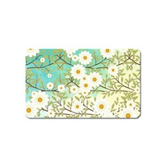 Springtime Scene Magnet (name Card) by linceazul