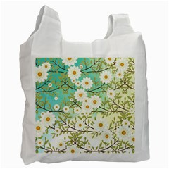 Springtime Scene Recycle Bag (one Side)