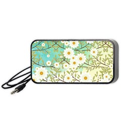 Springtime Scene Portable Speaker (black) by linceazul