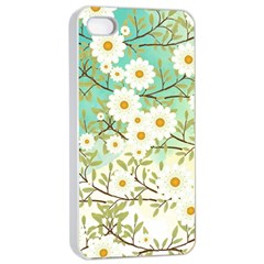 Springtime Scene Apple Iphone 4/4s Seamless Case (white) by linceazul