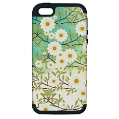 Springtime Scene Apple Iphone 5 Hardshell Case (pc+silicone) by linceazul