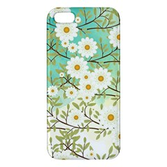 Springtime Scene Apple Iphone 5 Premium Hardshell Case by linceazul