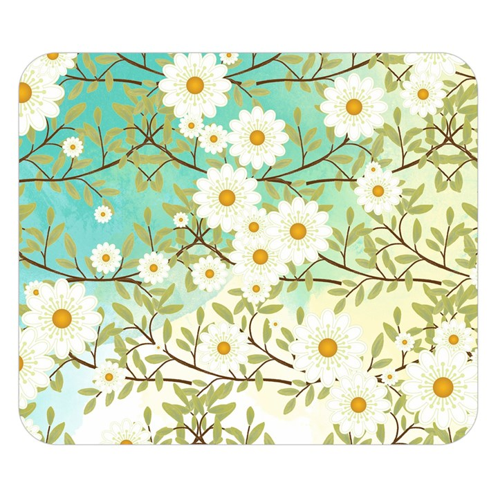 Springtime Scene Double Sided Flano Blanket (Small)