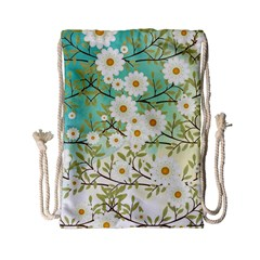 Springtime Scene Drawstring Bag (small) by linceazul