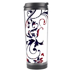 Scroll Border Swirls Abstract Travel Tumbler by Nexatart