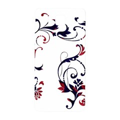 Scroll Border Swirls Abstract Samsung Galaxy Alpha Hardshell Back Case by Nexatart