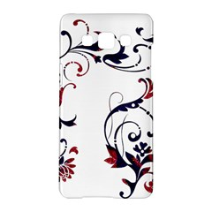 Scroll Border Swirls Abstract Samsung Galaxy A5 Hardshell Case  by Nexatart