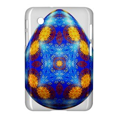 Easter Eggs Egg Blue Yellow Samsung Galaxy Tab 2 (7 ) P3100 Hardshell Case  by Nexatart