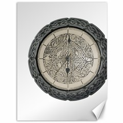 Clock Celtic Knot Time Celtic Knot Canvas 36  X 48