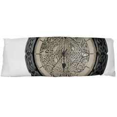 Clock Celtic Knot Time Celtic Knot Body Pillow Case (dakimakura)