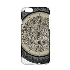 Clock Celtic Knot Time Celtic Knot Apple Iphone 6/6s Hardshell Case by Nexatart