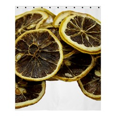 Lemon Dried Fruit Orange Isolated Shower Curtain 60  X 72  (medium)  by Nexatart