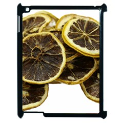Lemon Dried Fruit Orange Isolated Apple Ipad 2 Case (black) by Nexatart
