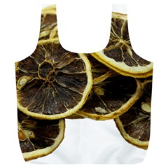 Lemon Dried Fruit Orange Isolated Full Print Recycle Bags (l)