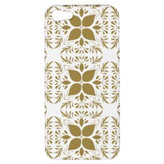 Pattern Gold Floral Texture Design Apple Iphone 5 Hardshell Case