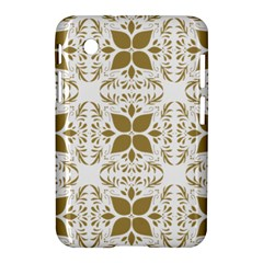 Pattern Gold Floral Texture Design Samsung Galaxy Tab 2 (7 ) P3100 Hardshell Case