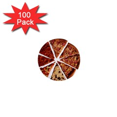 Food Fast Pizza Fast Food 1  Mini Magnets (100 Pack)  by Nexatart