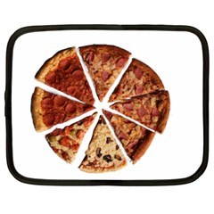 Food Fast Pizza Fast Food Netbook Case (xxl)  by Nexatart