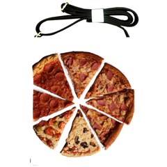 Food Fast Pizza Fast Food Shoulder Sling Bags by Nexatart