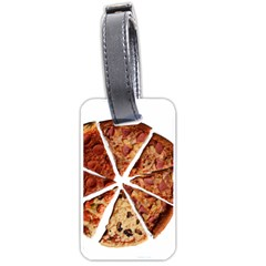 Food Fast Pizza Fast Food Luggage Tags (one Side)