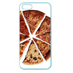 Food Fast Pizza Fast Food Apple Seamless Iphone 5 Case (color) by Nexatart