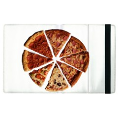 Food Fast Pizza Fast Food Apple Ipad 3/4 Flip Case by Nexatart