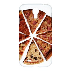 Food Fast Pizza Fast Food Samsung Galaxy S4 I9500/i9505 Hardshell Case by Nexatart