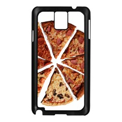 Food Fast Pizza Fast Food Samsung Galaxy Note 3 N9005 Case (black) by Nexatart