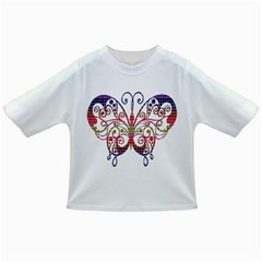 Butterfly Nature Abstract Beautiful Infant/toddler T Shirts