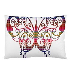 Butterfly Nature Abstract Beautiful Pillow Case by Nexatart