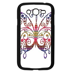 Butterfly Nature Abstract Beautiful Samsung Galaxy Grand Duos I9082 Case (black) by Nexatart